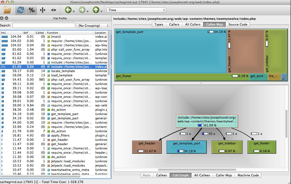 QCachegrind ( KCachegrind ) on Mac OS X – Joseph Scott